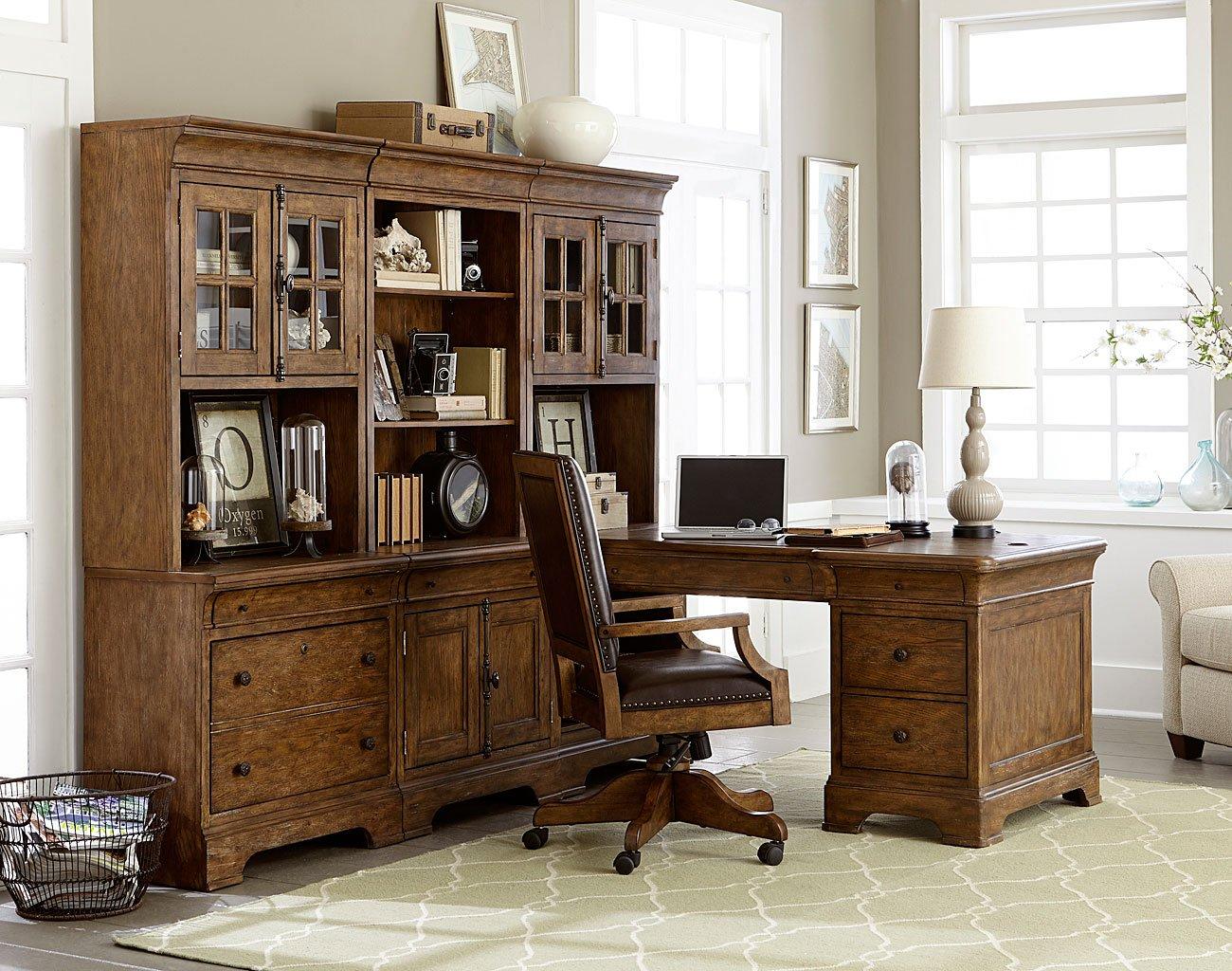 American Attitude 7-Piece Home Office Suite