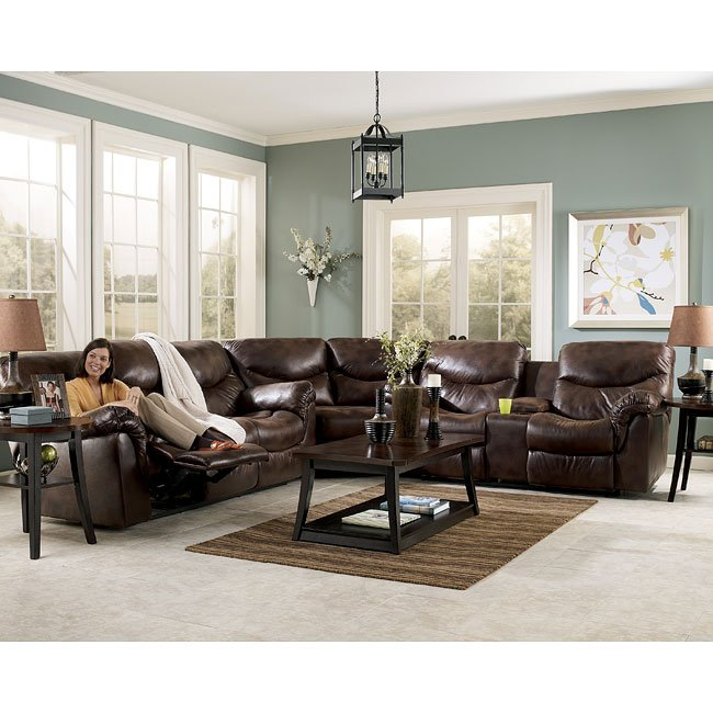 Frontier - Canyon Reclining Sectional Living Room Set