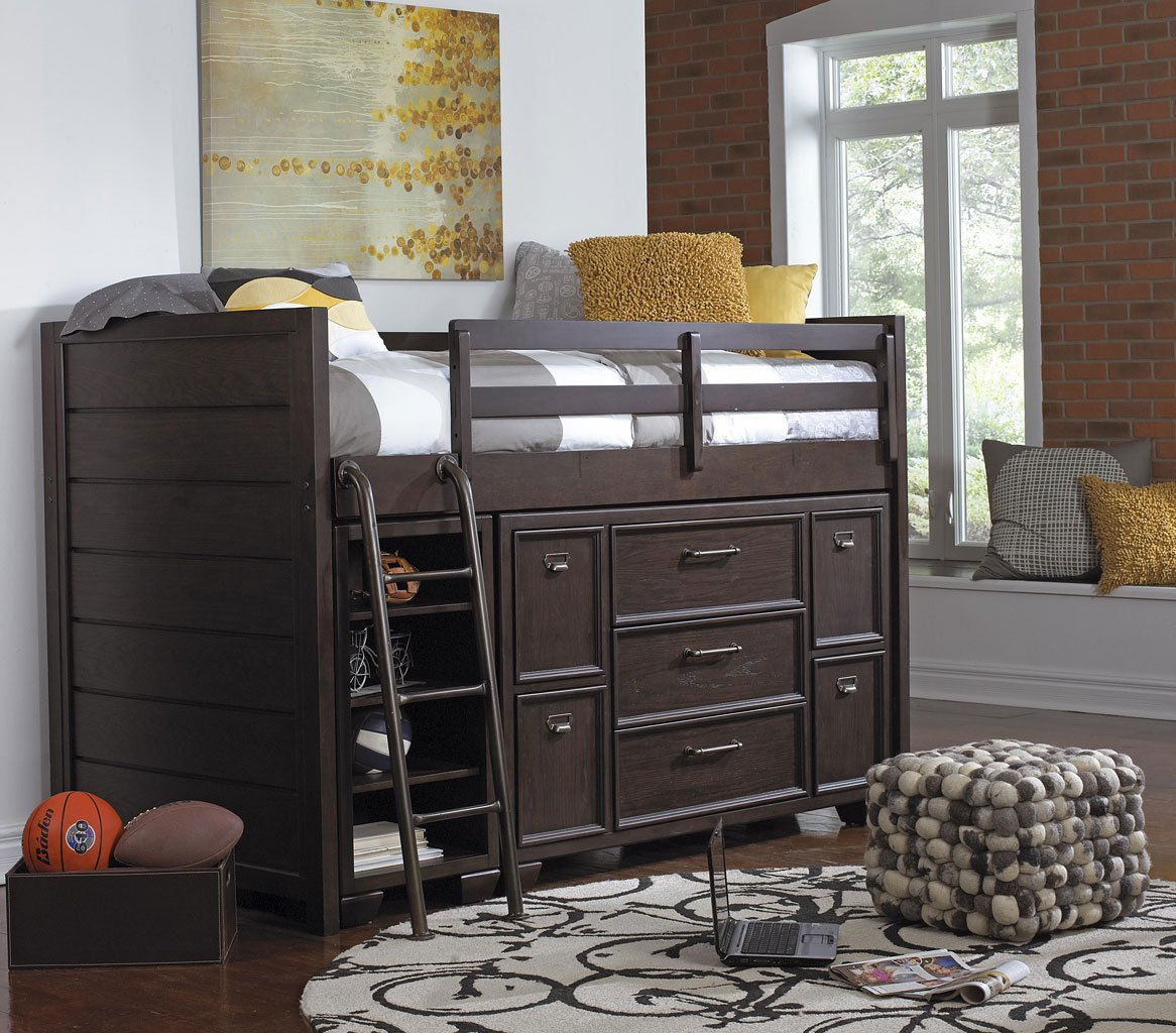 Clubhouse Twin Loft Bedroom Set