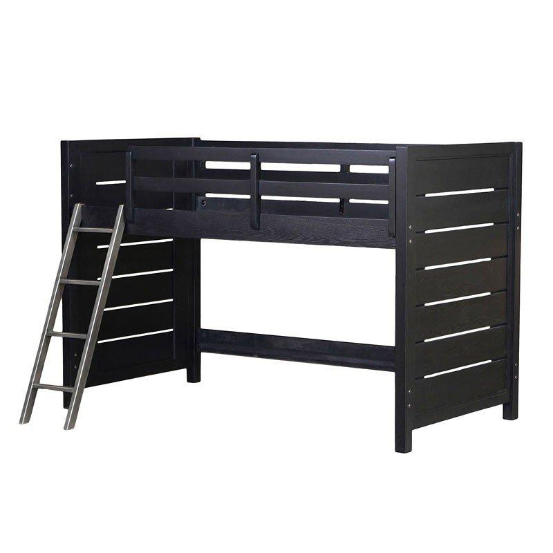Graphite Loft Bed Twin Samuel Lawrence Furniture Furniture Cart
