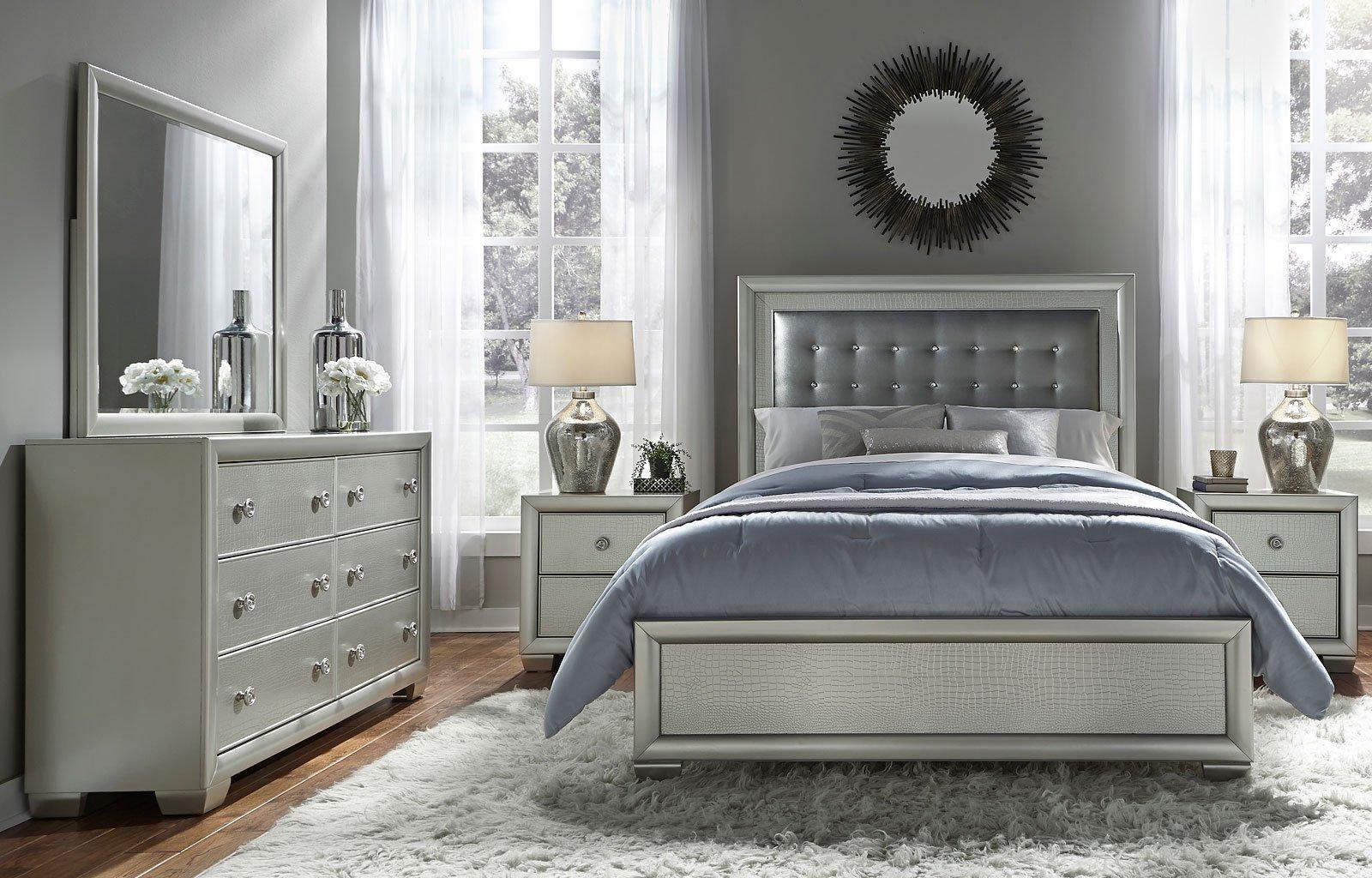 celestial panel bedroom set samuel lawrence furniture furniture cart