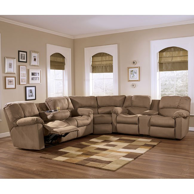 Eli - Cocoa Reclining Sectional