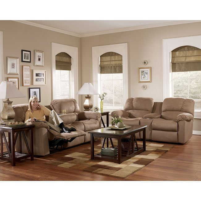 Eli - Cocoa Reclining Living Room Set