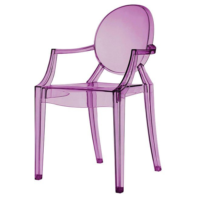 Exceptionnel Purple Ghost Chair (Set Of 2)