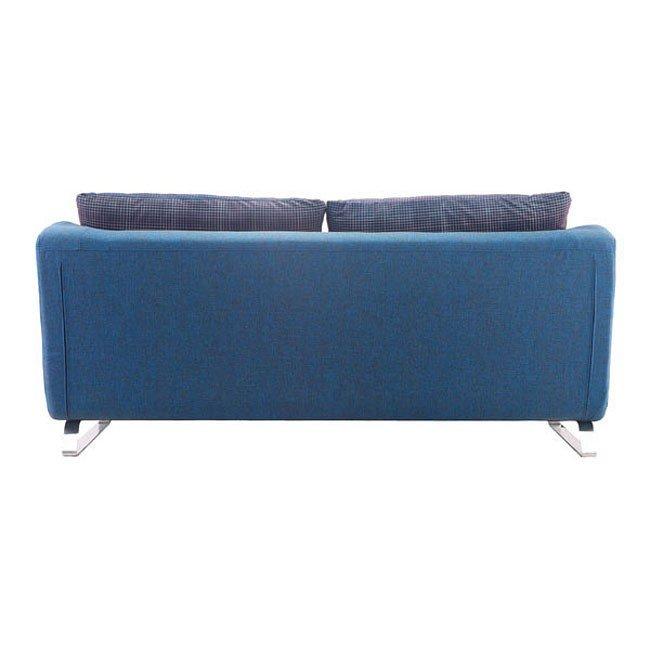 Prime Conic Sleeper Sofa Cowboy Blue And Shadow Grid Camellatalisay Diy Chair Ideas Camellatalisaycom