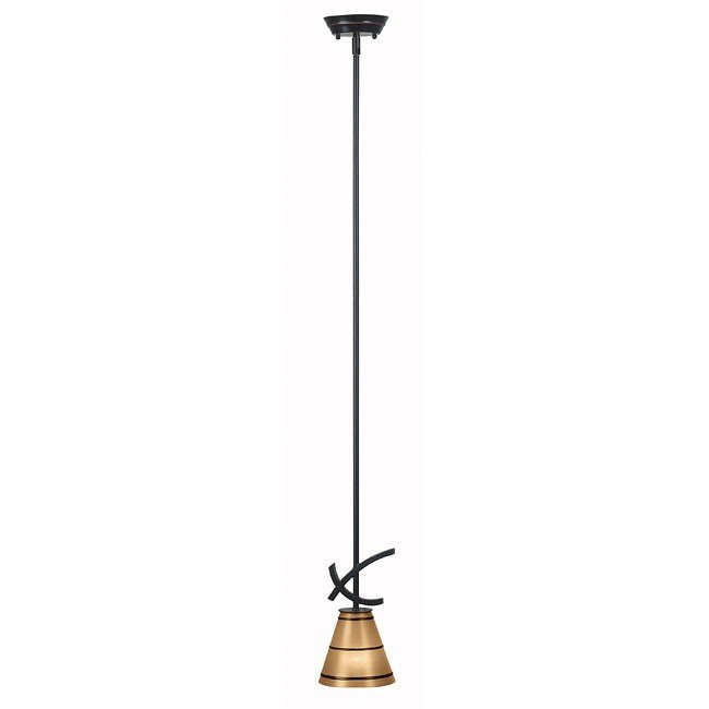 Wright 1 Light Mini Pendant (Bronze)