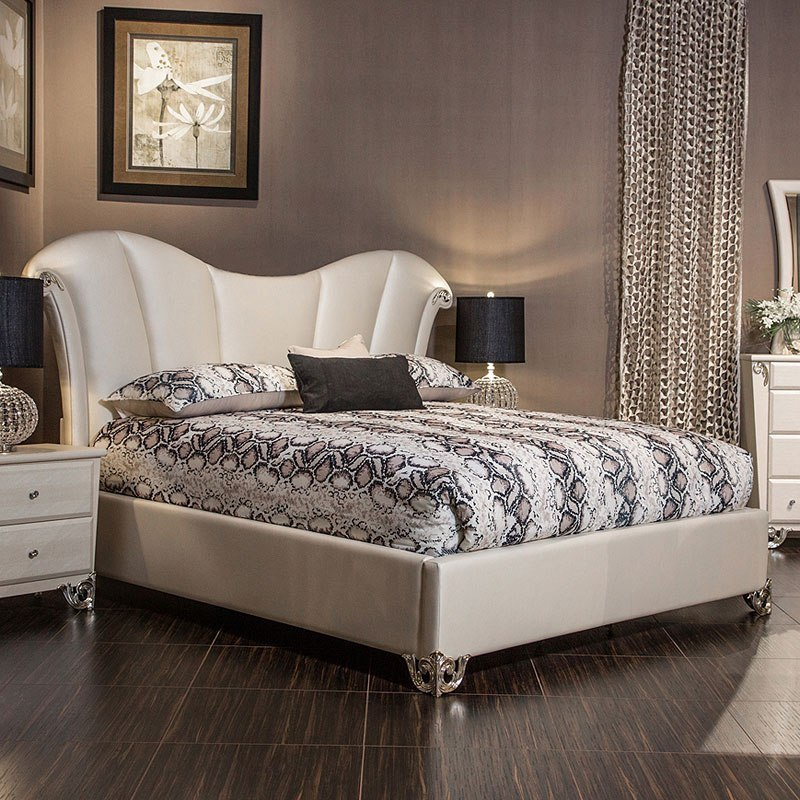 Brilliant Sunset Terrace Upholstered Bedroom Set Home Interior And Landscaping Ologienasavecom