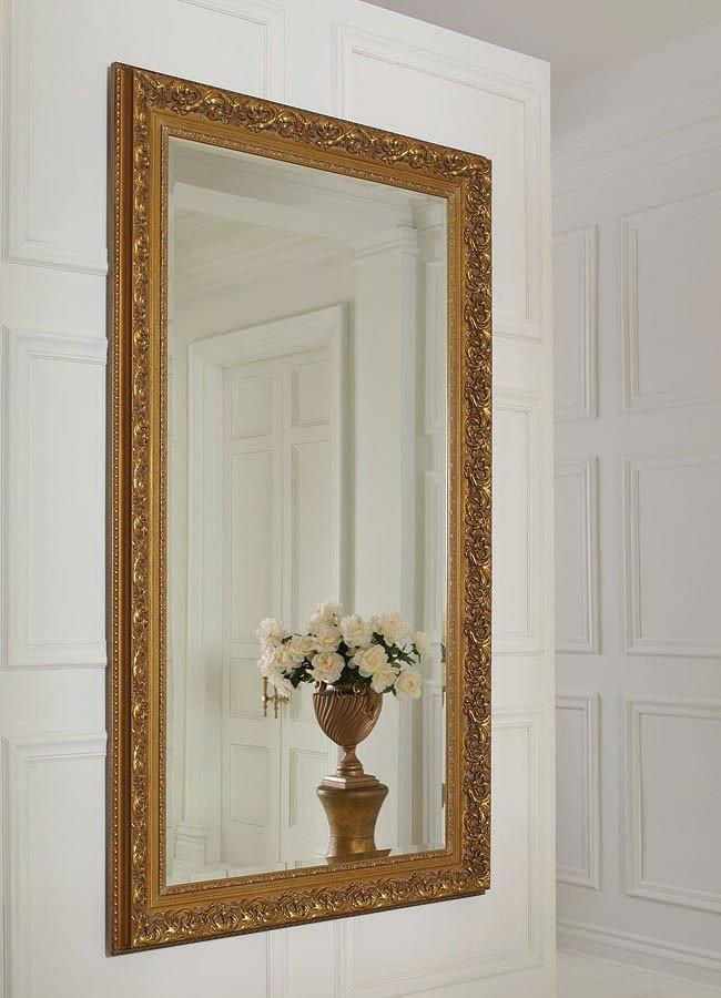 Antique Gold Full Length Mirror Coaster Furniture