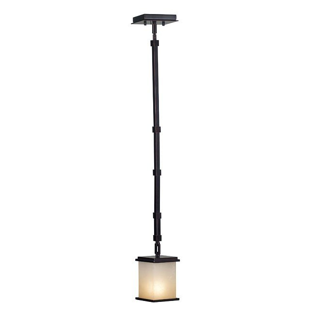 Plateau 1 Light Mini Pendant (Bronze)