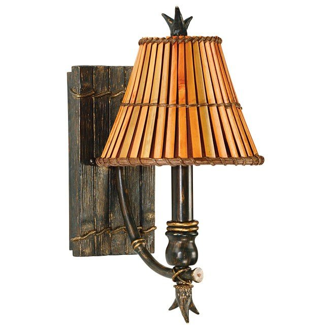Kwai 1 Light Wall Sconce (Bronze)
