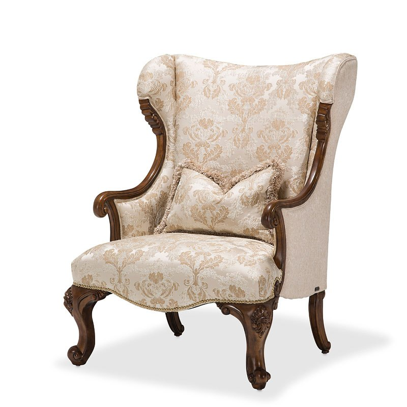 Grand Masterpiece Wing Chair (Pearl)