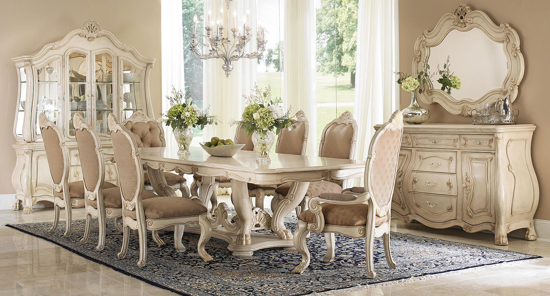Chateau de lago dining room set aico furniture furniture for Lago furniture