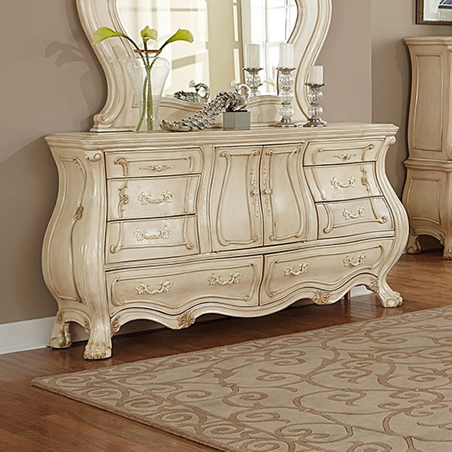 Chateau de lago panel bedroom set aico furniture for Lago furniture