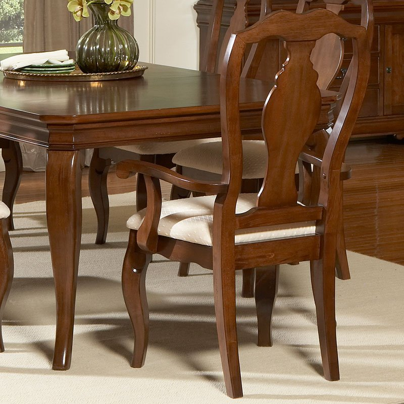 Louis Philippe Double Pedestal Dining Room Set Liberty ...