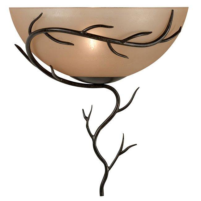 Twigs 1 Light Wall Sconce (Bronze)