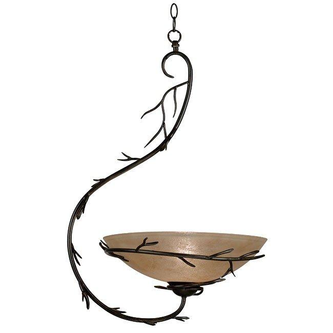 Twigs 1 Light Pendant (Bronze)