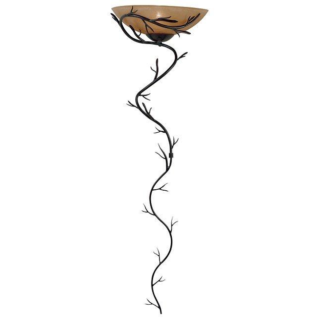 Twigs 1 Light Wallchiere (Bronze)