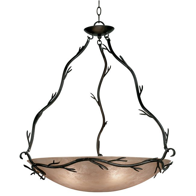 Twigs 5 Light Pendant (Bronze)