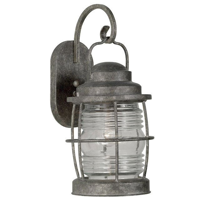 Beacon Large Wall Lantern (Flint)