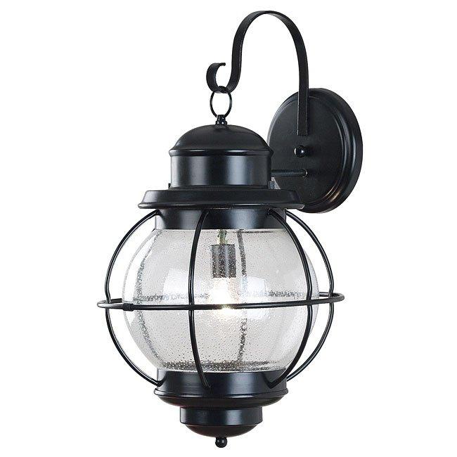 Hatteras X-Large Wall Lantern (Black)