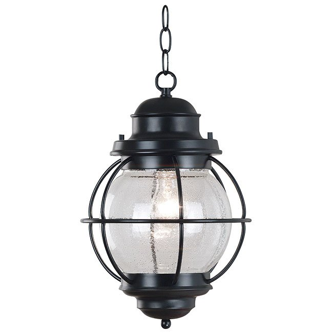 Hatteras Hanging Lantern (Black)