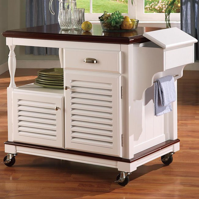 kitchen islands and carts furniture cherry and white kitchen island coaster furniture furniture cart 2431