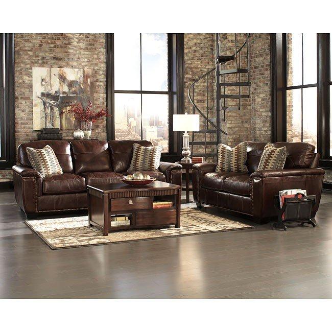 Tivona Coffee Living Room Set