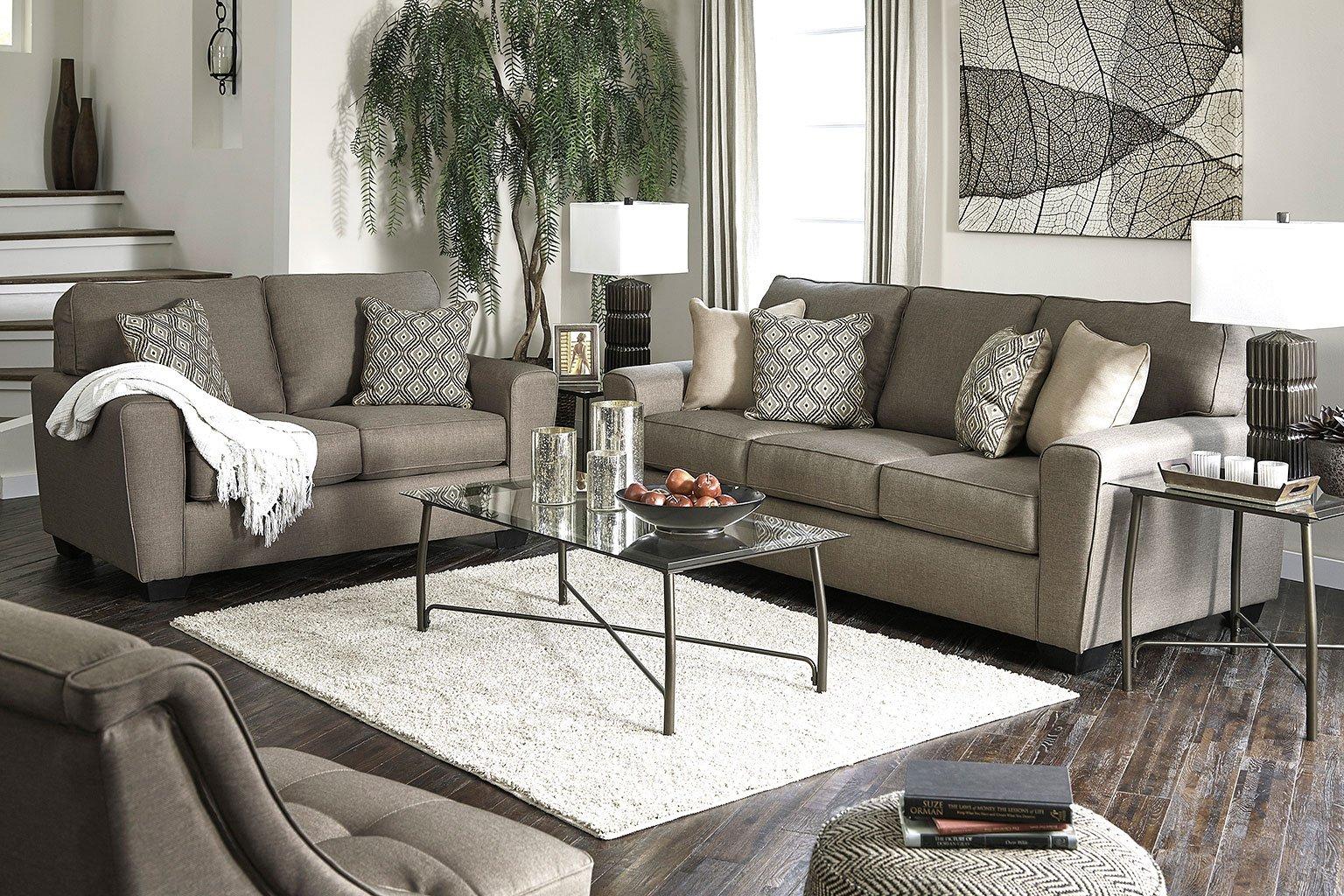 Calicho Cashmere Living Room Set Signature Design By ...