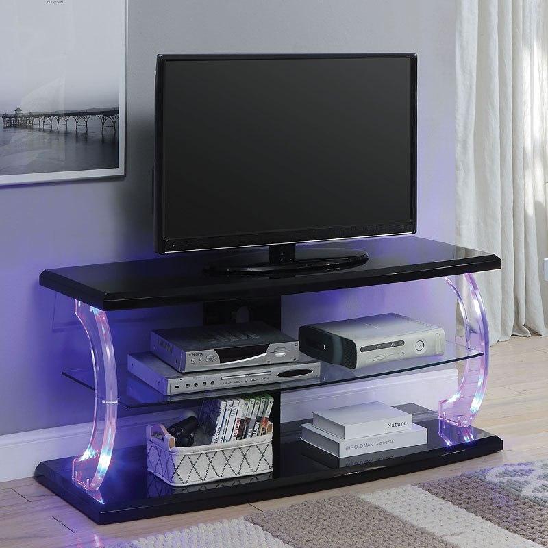 Aileen 48 Inch Tv Stand Black Acme Furniture Furniture Cart