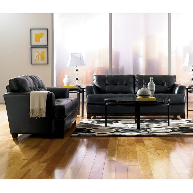 Martin - Onyx Living Room Set