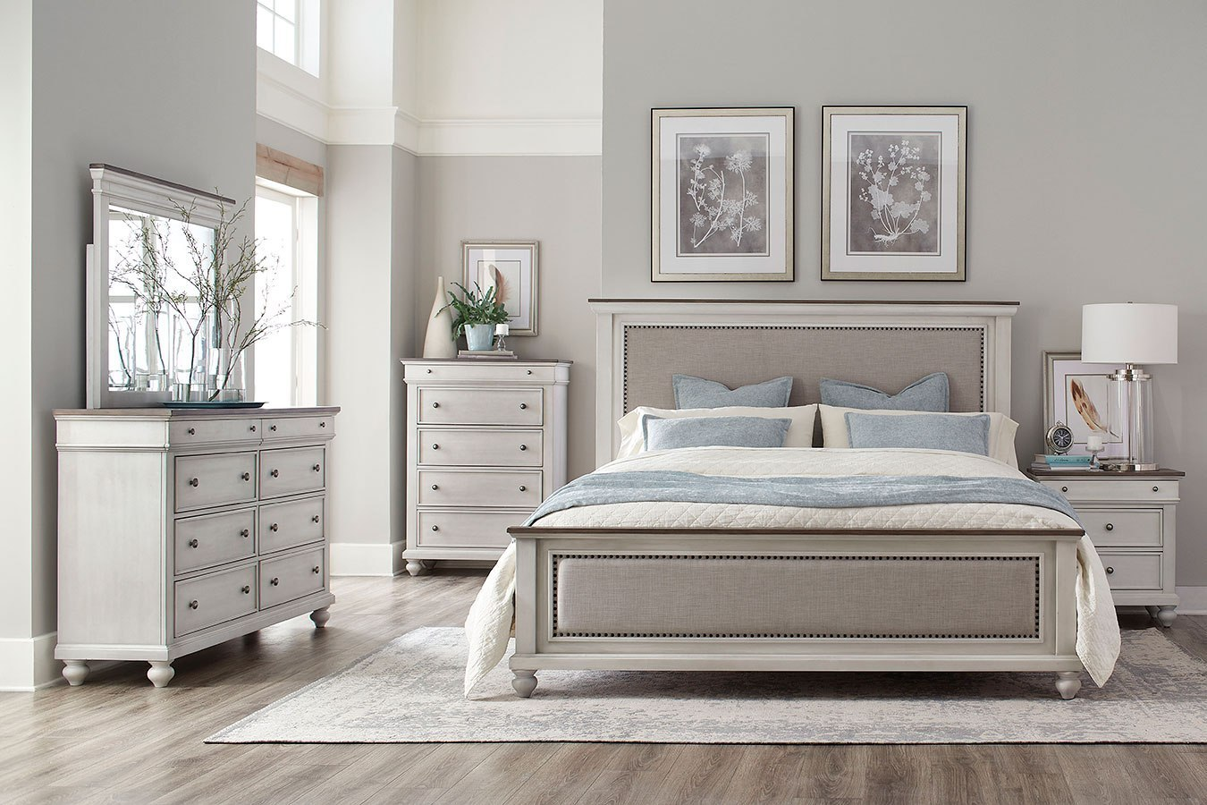 Grand Bay Panel Bedroom Set Standard Furniture Furniture Cart