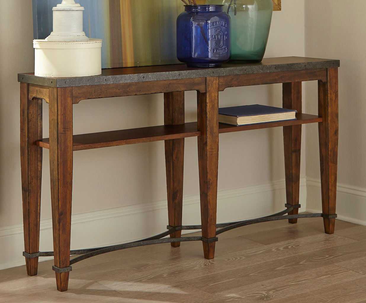 Trisha Yearwood Home Ginkgo Console Table Coffee