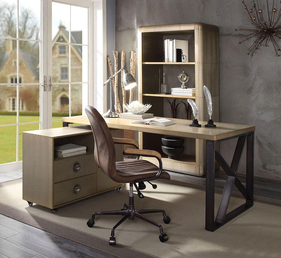 Jennavieve Home Office Set Acme Furniture | Furniture Cart