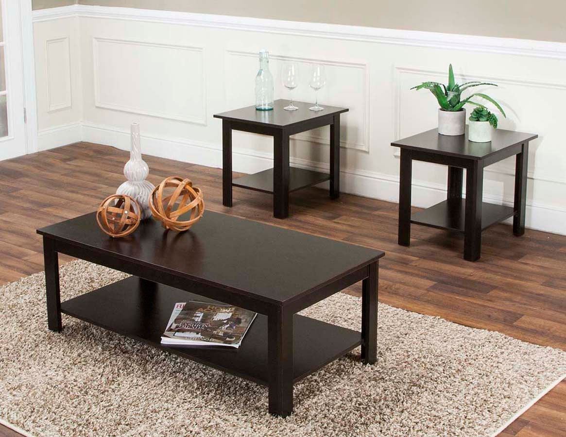 Ramble 3 Piece Occasional Table Set