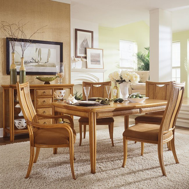 Antigua Dining Room Set American Drew | Furniture Cart