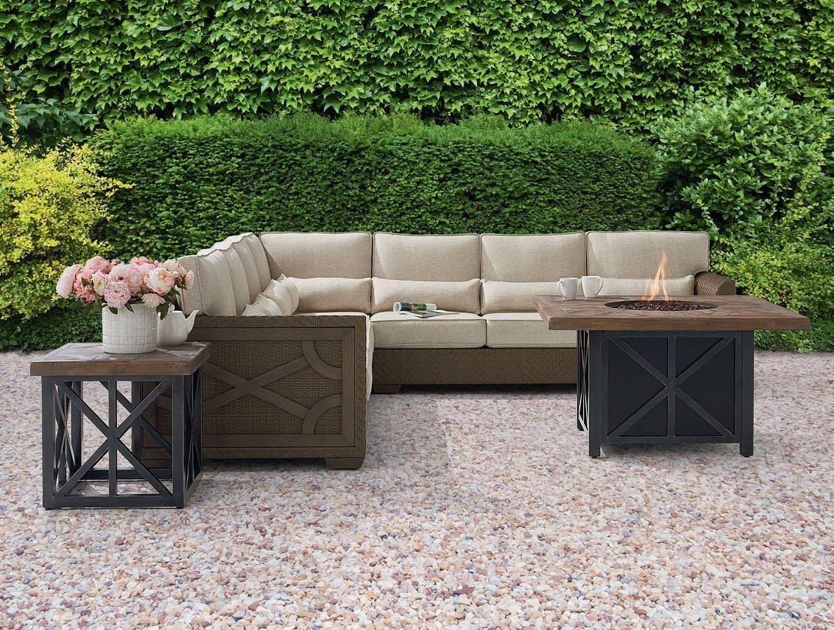 Fine Arch Salvage Outdoor Florence Wicker Modular Sectional Set Unemploymentrelief Wooden Chair Designs For Living Room Unemploymentrelieforg