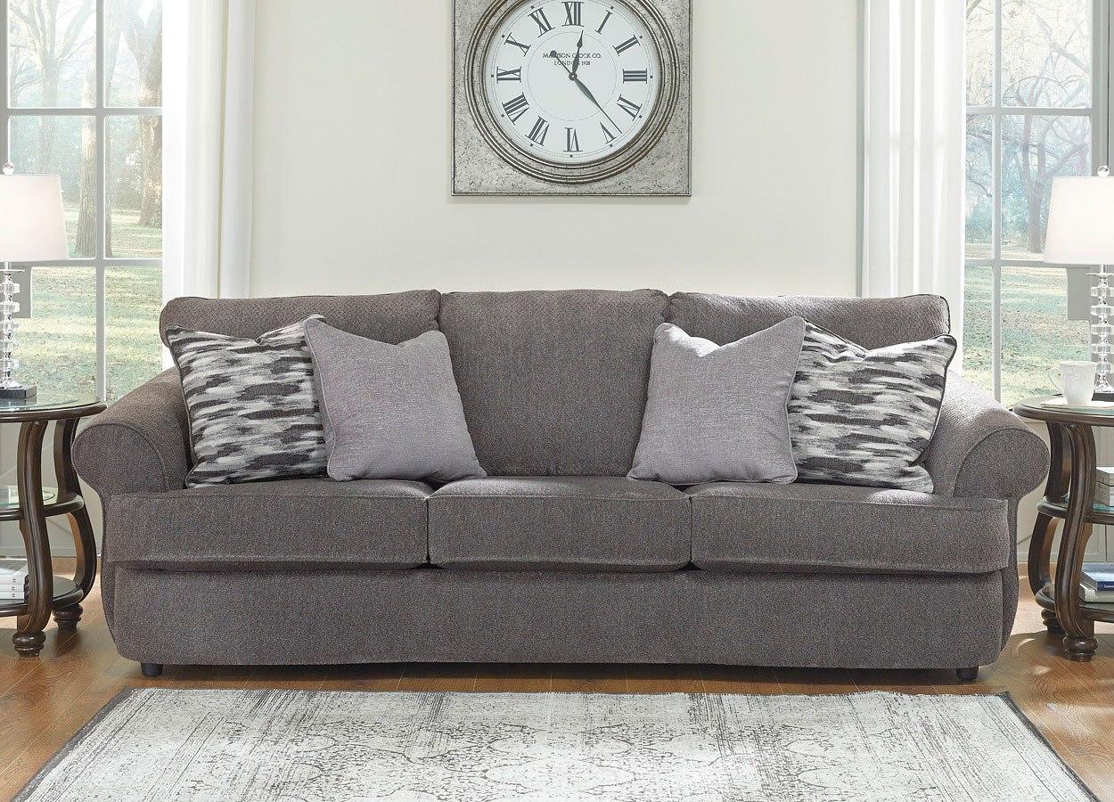 Allouette Ash Sofa Benchcraft Furniture Cart