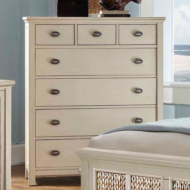 Pacifica Creme Drawer Chest