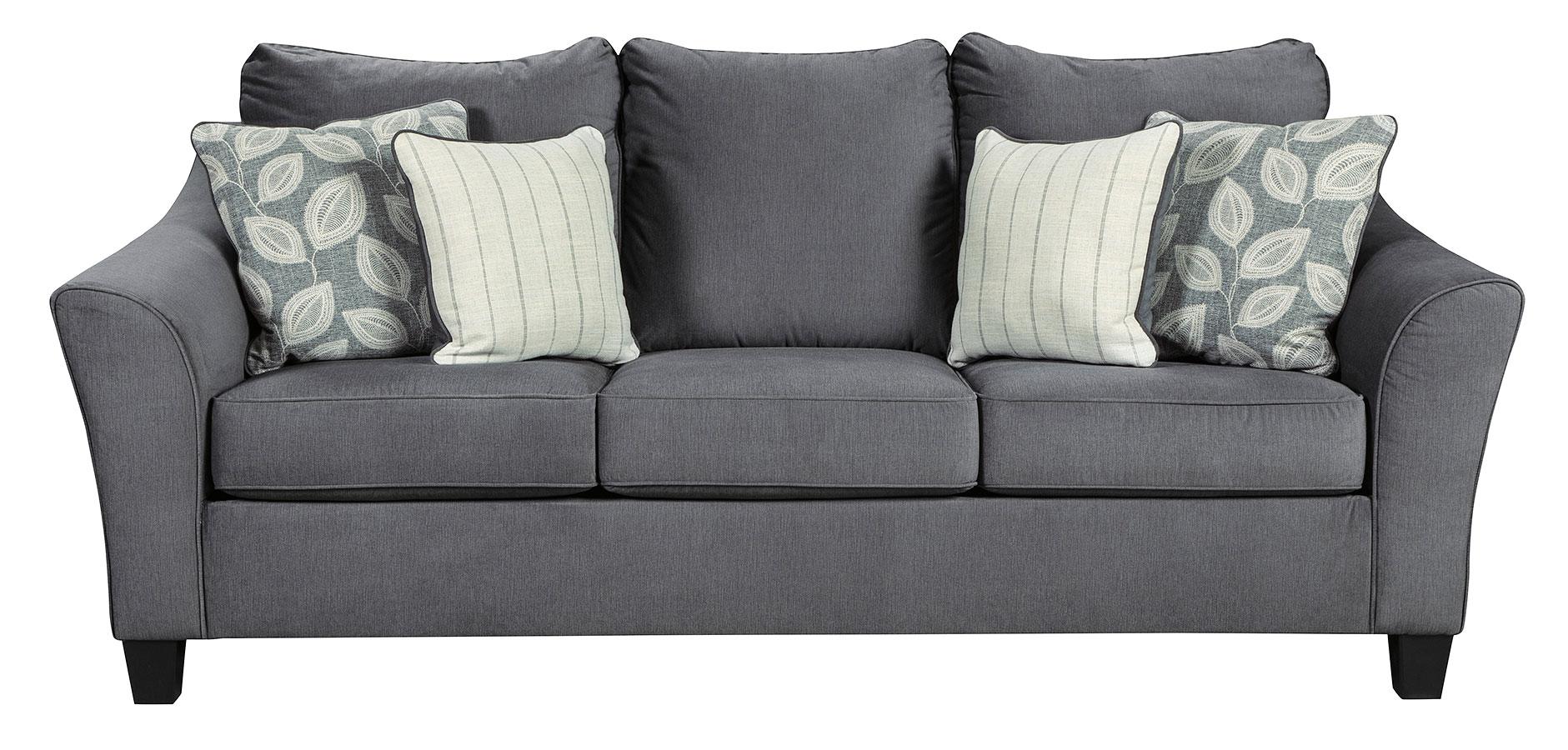 Sanzero Graphite Sofa Signature Design | Furniture Cart