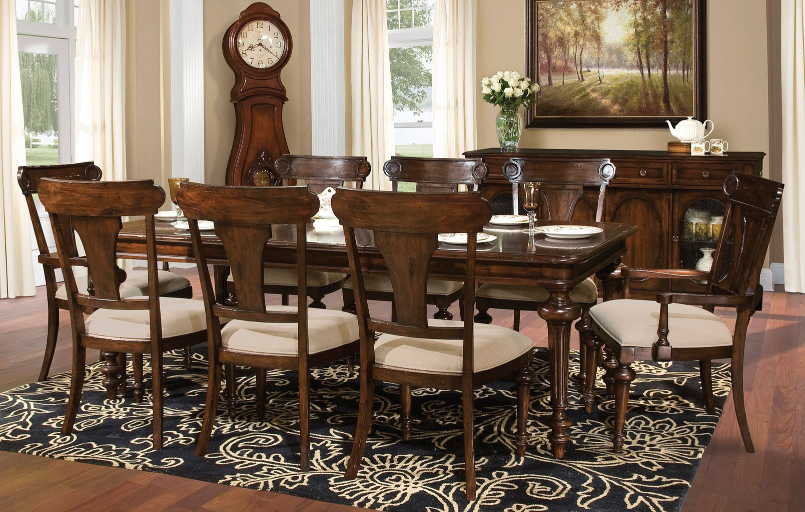 Charleston Place Rectangular Dining Set