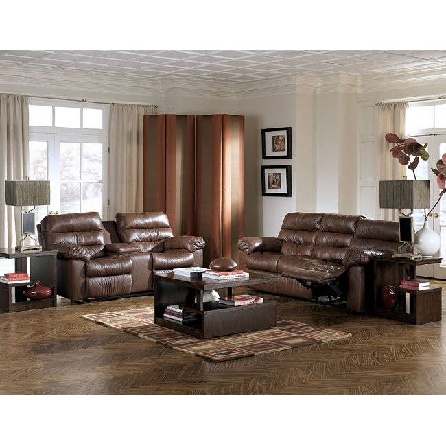 Memphis - Brown Reclining Living Room Set