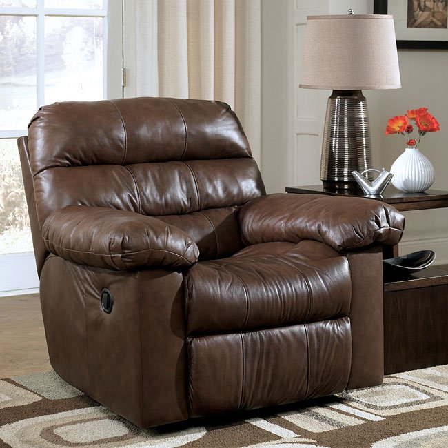 Memphis - Brown Rocker Recliner