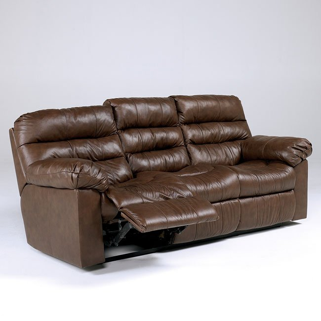 Memphis - Brown Reclining Sofa w/ Power