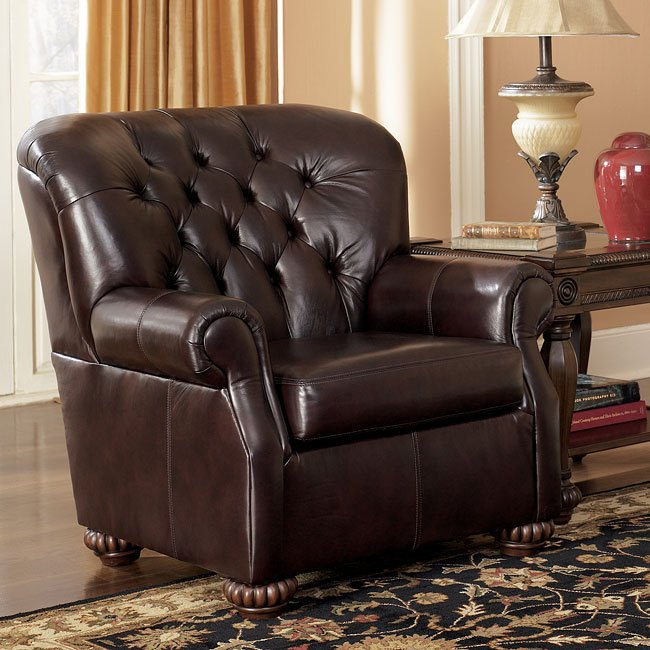 Brentwood - Mahogany Accent Chair