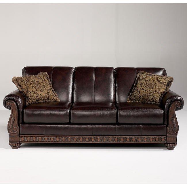 Brentwood - Mahogany Sofa