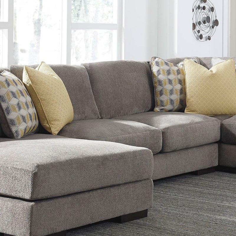 Modular Sectional Sofa Ashley: Fallsworth Smoke Modular Sectional BenchCraft, 4 Reviews