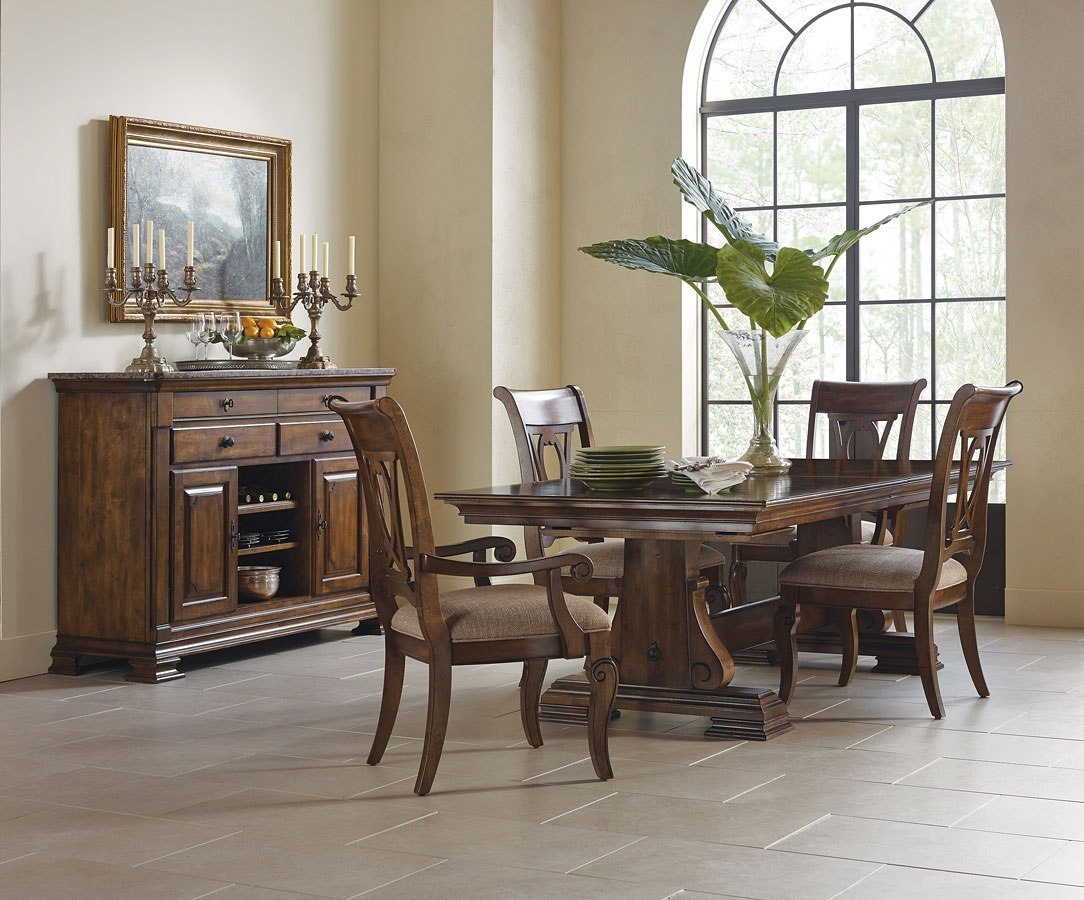 Portolone Carusso Rectangular Dining Room Set