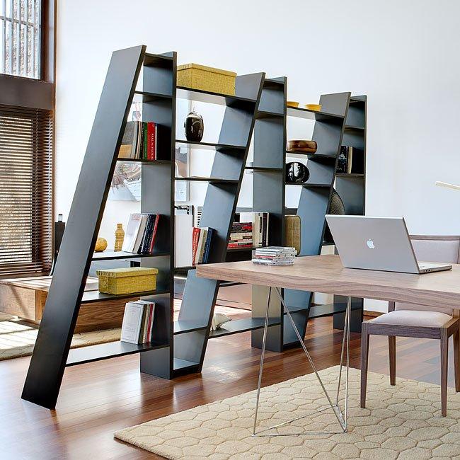 Delta Extended Bookshelf 005 (Black)