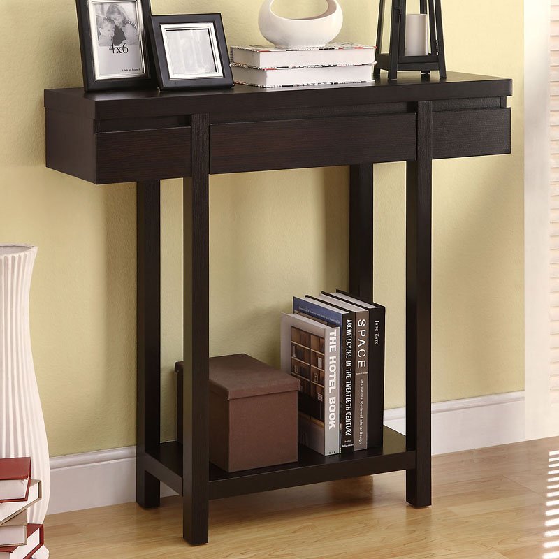 T Shaped Console Table Coaster Furniture Furniture Cart
