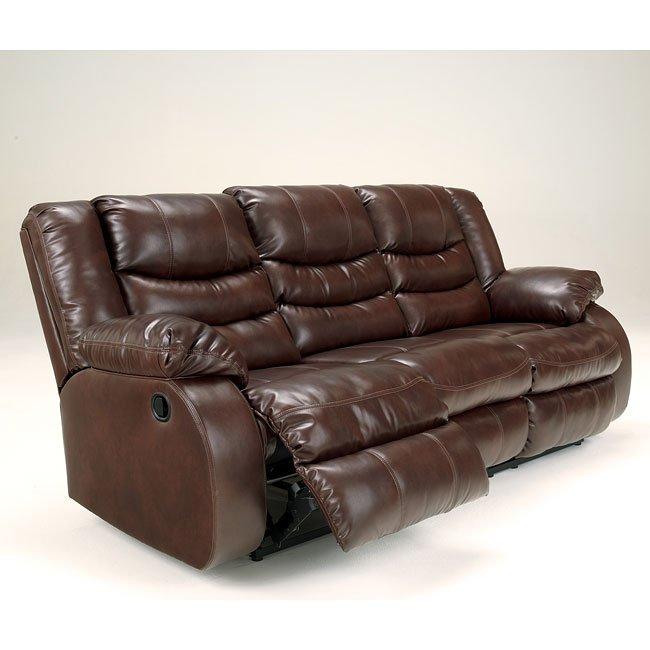 Best Brand Furniture Reviews: Linebacker DuraBlend Espresso Living Room Set Signature